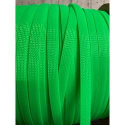 Кабелна оплетка 12мм зелена
