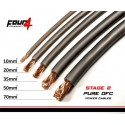 Захранващ кабел 35мм2 сив OFC 4Connect PC35GS