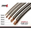 Захранващ кабел 20мм2 сив OFC 4Connect PC20GS