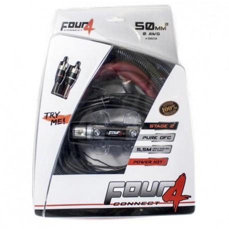Комплект кабели 50мм2 OFC 4Connect PKIT50G