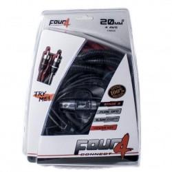 Комплект кабели 20мм2 OFC 4Connect PKIT20G