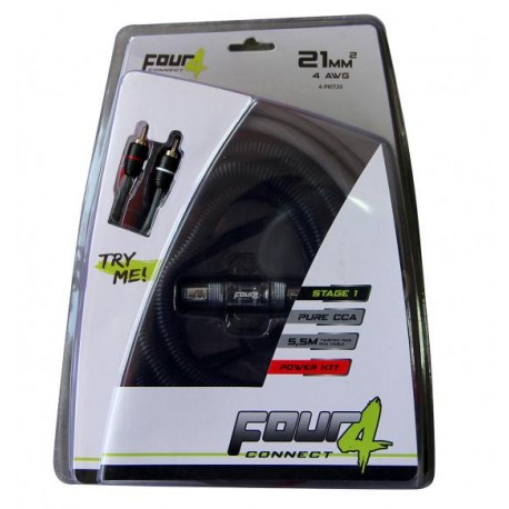 Комплект кабели 20мм2 4Connect PKIT20S