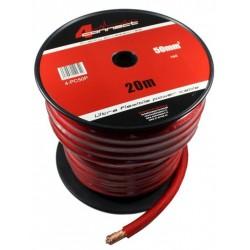 Захранващ кабел 50мм2 червен 4Connect PC50SR