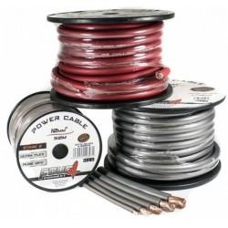 Захранващ кабел 50мм2 червен OFC 4Connect PC50GR